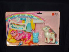 Vintage MY Little Pony LOT 1980'S Argentina MOC MIP Arco Iris Bebe TOP Toys | eBay