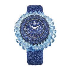 de grisogono grappoli blue sapphire S 02 ladies watches Ring Watch, Bracelet Watch, Cinderella Shoes, Beautiful Watches, Watch Sale, Luxury Watches, Cool Watches, Fashion Watches, Jewelry Watches