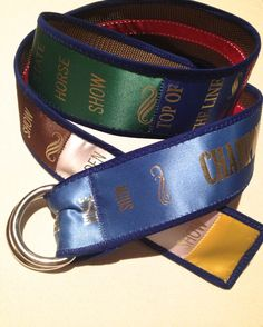 Custom show ribbon belts A great way to show off by DesiDesigns4u, $55.00
