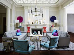 """""""Like Tony Duquette, Billy Baldwin, and Dorothy Draper, all of my design heroes have tipped their hat to China."""" -Jonathan Adler"""