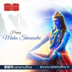 Welcome, Your hunt for the most delicious homemade Muffins, Cakes and Desserts ends right here at Usha's Muffins. Happy Maha Shivaratri, Homemade Muffins, Festivals, Movie Posters, Homemade Cakes, Film Poster, Popcorn Posters, Concerts, Film Posters