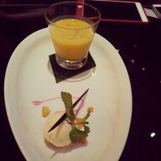 mango sago with vanile ice cream taste so sweet