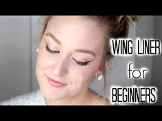 HOW TO:  WINGED EYE LINER FOR BEGINNERS! So easy! MarissaLace