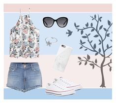 """""""Shopping with Friends"""" by monique-joanne ❤ liked on Polyvore featuring Godinger, Chanel, J Brand, Converse, Native Union and Pandora"""