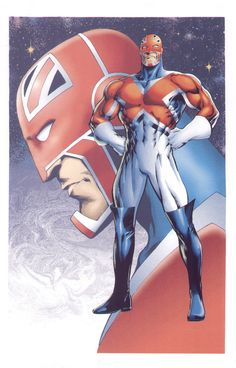 Captain Britain by Alan Davis.
