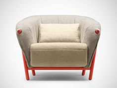 YAS ARMCHAIR BY SAMUEL ACCOCEBERRY FOR BOSC