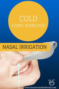 Nasal Irrigation clears the mucus and phlegm thus relieving you from cold