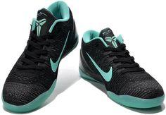Kobe IX Elite Low Black Green0