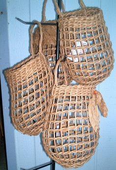 Potato Basket Medium size Twined in by basketrybotanica, $28.00