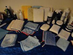 doeken en handschoenen uit het ha-ra assortiment
