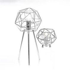 Diamond Tischleuchte - Chrom - Globen Lighting