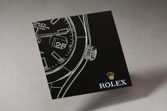 Hand Made, Custom, Rolex Invite