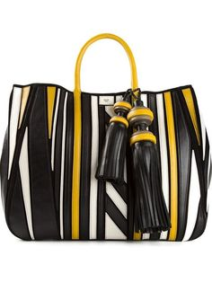 Shop Anya Hindmarch 'Crazy Maxi Belvedere' tote in Eraldo from the world's best independent boutiques at farfetch.com. Over 1000 designers from 60 boutiques in one website.