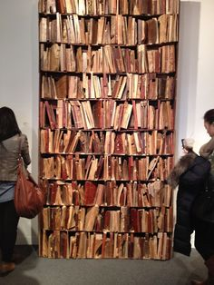 wooden bookshelf with wooden books