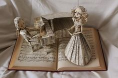 Sculpted literature brings books to life   DesignFaves