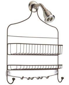 Interdesign Cero Wide Nesting Shower Caddy - Gold