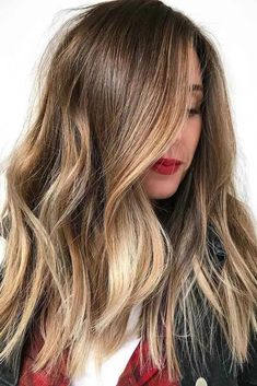 Hair Color 2018 Honey Blonde Balayage Hair Color ❤️ Balayage Is The Hottest New Hair Trend! Here we have collected our favorite balayage hairstyles. Now, you will learn how to get it so that it is absolutely best for you! Brown Hair Shades, Brown Ombre Hair, Brown Hair Balayage, Brown Hair With Highlights, Ombre Hair Color, Hair Color Balayage, Brown Hair Colors, Brunette Color, Golden Highlights