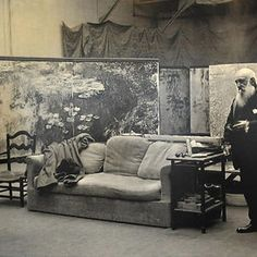 Claude Monet http://www.boredpanda.com/famous-artists-and-their-muses-in-their-studios/#post2