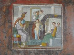 "(c. 35-45 CE) ""Mars and Venus"" - House of Marcus Lucretius Fronto at Pompeii"