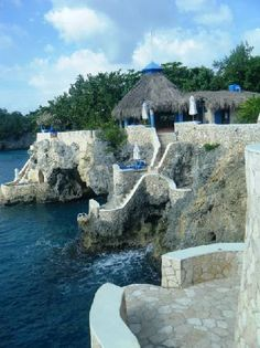 the caves, negril jamaica -- ohhhh this place is beautiful. i've wanted to go there for years!