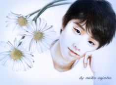羽生君 Male Figure, Figure Skating, Colored Pencils, Portrait, Cute, Fan, Random, Colouring Pencils, Headshot Photography