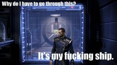 LOL exactly! Unless the Reapers decide to infiltrate with Shepard clones...