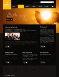 Sunray Solar Website Templates by Astra
