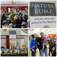 The Niagara Natural Baby Expo and GREAT CLOTH DIAPER CHANGE!  Lots of familiar faces and fun!  #Welovefluff