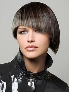 creative short hair style