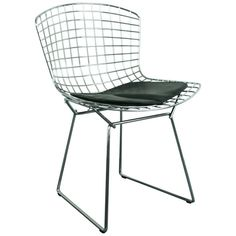 Vintage Mid-Century Side Chair Designed by Harry Bertoia for Knoll 1