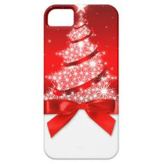 Red Christmas Tree iPhone 5 Cover #iphone #iphonecase