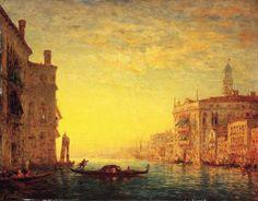 FELIX FRANCOIS GEORGES PHILIBERT ZIEM (1821-1911) LE GRAND CANAL