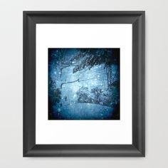 Winter View Framed Art Print by Dirk Wuestenhagen Imagery - $36.00