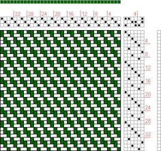 Figure 1269, A Handbook of Weaves by G. H. Oelsner, 3S, 6T - Handweaving.net Hand Weaving and Draft Archive