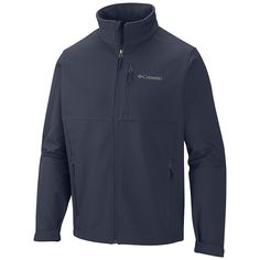 Big & Tall Columbia Ascender Softshell Jacket, Blue Other