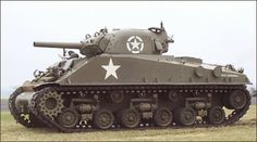 M4 Sherman Tank, Most widely used American tank in WWII
