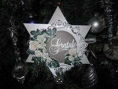 Merethes Kreative Boble Mix Media, Hanukkah, Scrapbooking, Paper, Cards, How To Make, Decor, Creative, Dekoration