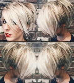 Today we have the most stylish 86 Cute Short Pixie Haircuts. We claim that you have never seen such elegant and eye-catching short hairstyles before. Pixie haircut, of course, offers a lot of options for the hair of the ladies'… Continue Reading → Short Pixie Haircuts, Long Pixie Hairstyles, Hairstyles Haircuts, Short Hair Cuts, Short Hair Styles, Haircut Short, Curly Short, Pixie Bob, Blonde Short Hair Pixie