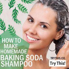 Baking Soda For Hair: How To Make Homemade Baking Soda Shampoo