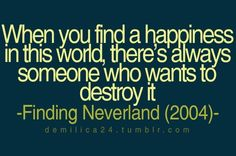 charming life pattern: finding neverland - quote - movie - when you find ...