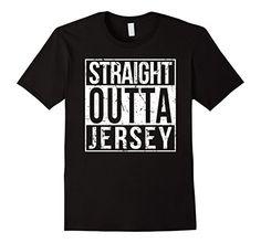 Straight Outta Jersey Shirt - Men's and Women's Jersey pride shirt (New Jersey).
