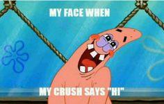 "19 Times ""The SpongeBob SquarePants Movie"" Was The Absolute Best Spongebob Patrick, Spongebob Memes, Spongebob Squarepants, When Your Crush, My Crush, Funny Jokes, Hilarious, My Face When, Toddler Girls"