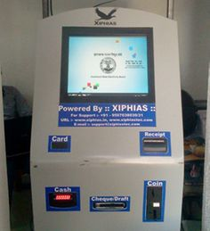 #CASHKIOSK  used to accept cash. user can save their time its very useful.