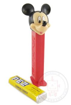 Pez Candy Dispenser - loved the dispensers, but the candies were GROSS!