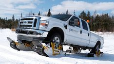 Track N Go Turns Your Truck Into An Awesome Fun-In-The-Snow Mobile In 15 Minutes -Posted on January 16, 2014