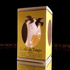 Pristine Box Mini LairDuTemps Commercial Miniature Nina Ricci France Perfume Bottle Collectible Laluque Replica Bottle by OldGLoriEstateSale on Etsy