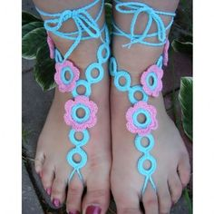 Stylish Women Lady Barefoot Crochet Feet Anklet Ankle Chain