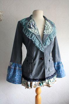 upcycle/embellish/resize denim jacket?
