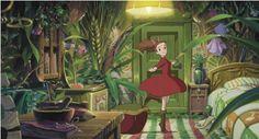 The secret world of Arrietty!