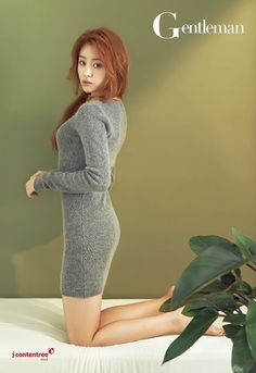 nice Song JiEun (Secret) for Gentleman, December 2014